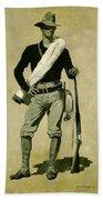 U. S. Soldier, Spanish-american War Beach Towel