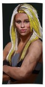 Ufc Fighter Paige Van Zant Beach Towel