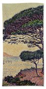 Umbrella Pines At Caroubiers Beach Towel