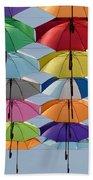 Umbrella Rainbow Beach Towel