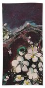 Ume Blossoms Beach Towel