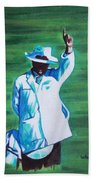 Umpiring Beach Towel