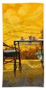 Un Caldo Pomeriggio D Beach Towel