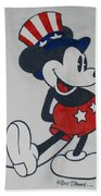 Uncle Mickey Beach Towel