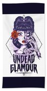 Undead Glamour Beach Towel