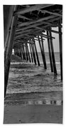 Under The Boardwalk Alantic Beaches Nc Beach Towel
