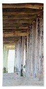 Under The Boardwalk Except It's The Pier Beach Towel