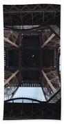 Under The Eiffel Beach Towel