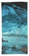 Under The Glacier Beach Towel