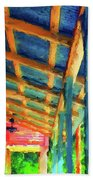 Under The Roof Beach Towel
