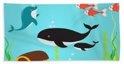 Under The Sea-jp2988 Beach Towel