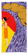 Under The Shelter Of Your Love Beach Towel