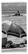 Under The Umbrella Beach Towel