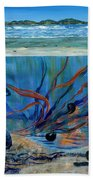 Under Water - Point Of View Beach Towel