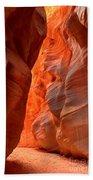Underground Desert Lights Beach Towel