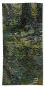 Undergrowth Saint Remy De Provence  July 1889 Vincent Van Gogh 1853  1890 Beach Towel