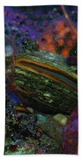 Undersea Clam Beach Towel