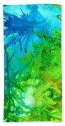 Undersea Corals Beach Towel