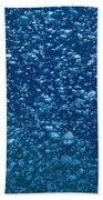 Underwater Bubbles Beach Towel