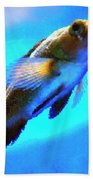 Underwater Levity Beach Towel