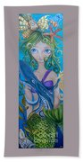 Underwater Mermaid Beach Towel