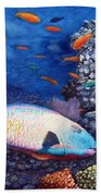 Underwater Treasures Beach Towel