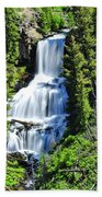Undine Falls Beach Towel