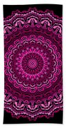 Unexpected In Pink No. 2 Beach Towel