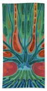 Unfinished Tree Beach Towel