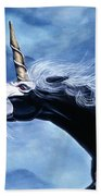Unicorn Fury Beach Towel