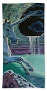 Unicorn Lake Beach Towel