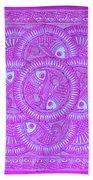 Union Purple Beach Towel