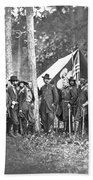 Union Soldiers Beach Towel