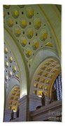 Union Station Ceiling Beach Towel