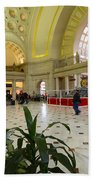 Union Station Main Hall And Waiting Room Beach Towel