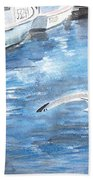 Union Wharf Beach Towel