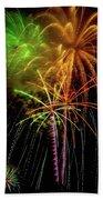Unique Fireworks Beach Towel