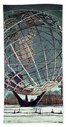 Unisphere Beach Towel