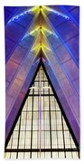 United States Air Force Academy Cadet Chapel 3 Beach Towel