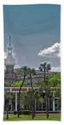 University Of Tampa Beach Towel