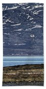 Unjarga-nesseby Church In Arctic Norway Beach Towel