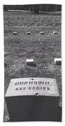 Unknown Bodies Beach Towel