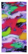 Unpredictable Wave Beach Towel