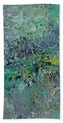Blind Giverny Beach Towel