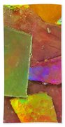 Untitled Abstract Prism Plates IIi Beach Towel