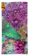Untitled Abstract Prism Plates V Beach Towel