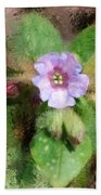 Untitled Floral -1 Beach Towel