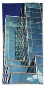 Up Town Phoenix Building Beach Towel