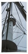 Up Whitefish Point Beach Towel