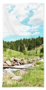 Upcreek  Beach Towel